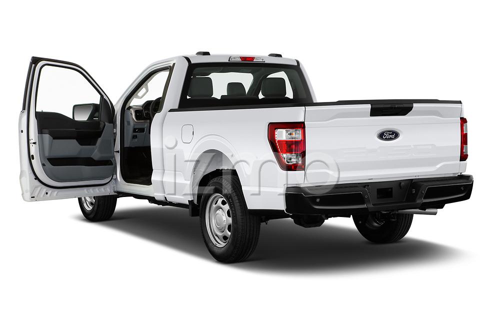 Car images of 2021 Ford F-150 XL 4 Door Pick-up Doors