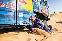 4th January 2021; Dakar Rally stage 2;  #501 Shibalov Anton (rus), Nikitin Dmitrii (rus), Tatarinov Ivan (rus), Kamaz, Kamaz - Master, Camion, Truck, action during the 2nd stage of the Dakar 2021 between Bisha and Wadi Al Dawasir, in Saudi Arabia on January 4, 2021