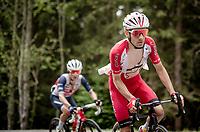 Guillaume Martin (FRA/Cofidis) up the Col de Joux Plane (HC/1691m/11.6 km@8.5 %)<br /> <br /> 73rd Critérium du Dauphiné 2021 (2.UWT)<br /> Stage 8 (Final) from La Léchère-Les-Bains to Les Gets (147km)<br /> <br /> ©kramon