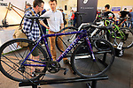 Filament stand at Bespoked 2018 UK handmade bicycle show held at Brunel's Old Station & Engine Shed, Bristol, England. 21st April 2018.<br /> Picture: Eoin Clarke | Cyclefile<br /> <br /> <br /> All photos usage must carry mandatory copyright credit (© Cyclefile | Eoin Clarke)