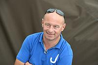 ZEILSPORT: ELAHUIZEN: 03-07-2021, De Fluessen, SKS Sprintwedstrijden, schipper Joure Rinus de Jong, ©foto Martin de Jong