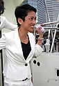 Renho of Japan's opposition Democratic Party campaigning in Yokohama
