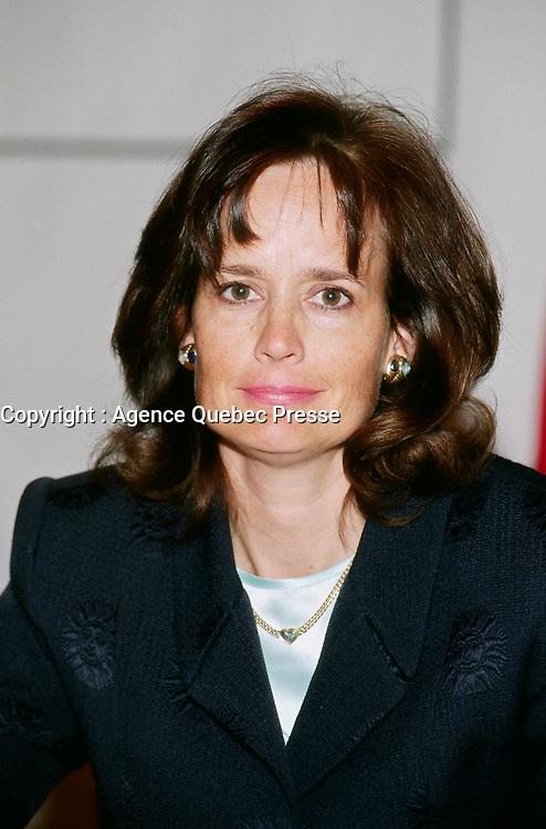 1998-Helene Desmarais<br /> <br /> PHOTO :  Agence Quebec Presse