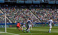 Carson, CA - April 23, 2017: The Seattle Sounders FC defeat the Los Angeles Galaxy 3-0 in a Major League Soccer (MLS) game at StubHub Center.