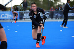 NZ's Kelsey Smith warms up during the Sentinel Homes Trans Tasman Series hockey match between the New Zealand Black Sticks Women and the Australian Hockeyroos at Massey University Hockey Turf in Palmerston North, New Zealand on Sunday, 30 May 2021. Photo: Dave Lintott / lintottphoto.co.nz