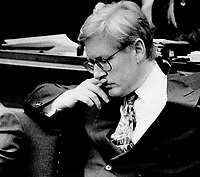 Under attack: Premier Bob Rae takes Opposition flak in the Legislature yesterday over scandals rocking his government. He apologized for actions of an ex-aide.<br /> <br /> Photo : Boris Spremo - Toronto Star archives - AQP