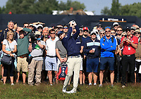 15th July 2021; Royal St Georges Golf Club, Sandwich, Kent, England; The Open Championship, PGA Tour, European Tour Golf, First Round ; Brandon Grace (RSA) plays from the rough on the 1st hole