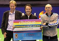 18-12-10, Tennis, Rotterdam, Reaal Tennis Masters 2010, Honzik Pavel tennistrainer van het jaar