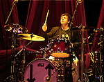 Clem Burke of Blondie performs at the Music Box in the Borgata Hotel and Casino in Atlantic City, New Jersey September 16, 2011. Copyright EML/Rockinexposures.com.