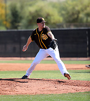 Blake Rogers - San Diego Padres 2020 spring training (Bill Mitchell)