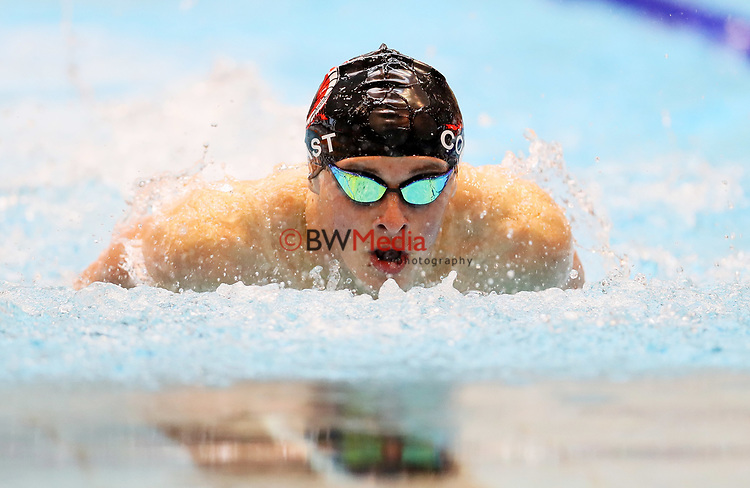 James Donovan. Session 1 of the AON New Zealand National Age Group Swimming Champs, Wellington Regional Aquatic Centre, Auckland, New Zealand.Monday 19 April 2021 Photo: Simon Watts/www.bwmedia.co.nz