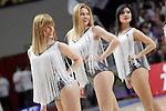 Real Madrid's cheerleaders during Liga Endesa ACB match.Apri 12,2015. (ALTERPHOTOS/Acero)