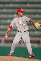March 7 2010: Richard Olson of University of New Mexico during game against USC at Dedeaux Field in Los Angeles,CA.  Photo by Larry Goren/Four Seam Images
