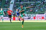 19.09.2020, wohninvest Weserstadion, Bremen, GER,  SV Werder Bremen vs Hertha BSC Berlin, <br /> <br /> <br />  im Bild<br /> <br /> Ludwig Augustinsson (Werder Bremen #05)<br /> <br /> Foto © nordphoto / Kokenge<br /> <br /> DFL regulations prohibit any use of photographs as image sequences and/or quasi-video.