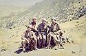 Iraq 1983<br /> In Qalashin, in front from left to right, Nechirvan Barzani, Dr. Said Barzani and Failak Eddin  <br /> Irak 1983 <br /> A Qalashin, devant de gauche a droite, Nechirvan Barzani, Dr. Said Barzani et failak Eddin Kakai