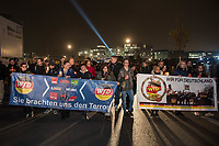 2018/11/09 Politik | Berlin | Rechtsextreme demonstrieren am 9. November