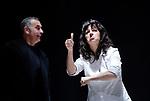 POUR UN OUI POUR UN NON<br /> <br /> Auteur : SARRAUTE Nathalie<br /> Mise en scene : CARBONNEAUX Philippe<br /> Avec :<br /> LABADIE Jean-Philippe<br /> LABORIT Emmanuelle<br /> LEGRAND Aristide<br /> LIENNEL Chantal<br /> Lieu : International Visual Theatre<br /> Ville : Paris<br /> Le : 06 01 2008<br /> © Laurent Paillier