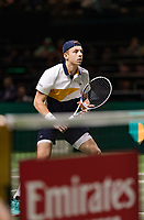 Rotterdam, The Netherlands, 14 Februari 2019, ABNAMRO World Tennis Tournament, Ahoy, Tallon Griekspoor (NED),<br /> Photo: www.tennisimages.com/Henk Koster
