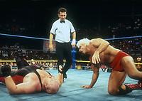 Ric Flair vs. Vador, 1993 Photo By John Barrett/PHOTOlink