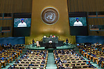 General Assembly Seventy-fourth session, 7th plenary meeting<br /> <br /> <br /> His Excellency Julius Maada Bio, President, Republic of Sierra Leone