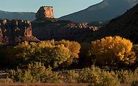 Utah in autumn.