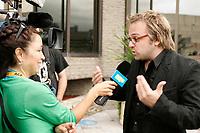 Stephane Lapointe, film maker at<br /> Closing Reception of the 2006 World Film Festival - Festival des Films du Monde<br /> photo : Roussel  - Images Distribution