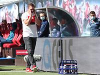 16th May 2020, Red Bull Arena, Leipzig, Germany; Bundesliga football, Leipzig versus FC Freiburg;  trainer Julian Nagelsmann RBL