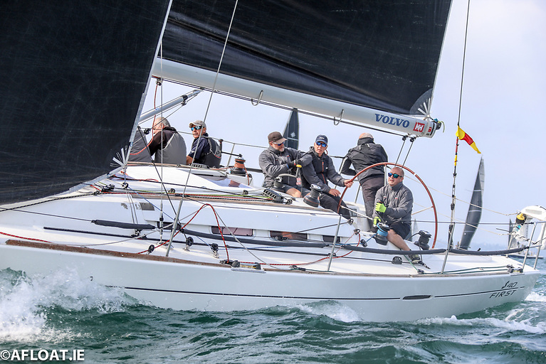 Forty Licks, Jay Colville's First 40CR from RUYC, had an excellent regatta taking second overall in IRC Zero