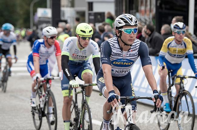 Fumy Beppu (JAP/Nippo-Delko) crossing the finish line<br /> <br /> 108th Scheldeprijs 2020 (1.Pro)<br /> 1 day race from Schoten to Schoten BEL (173km)<br /> <br /> ©kramon