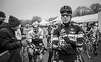 Tom Meeusen (BEL/Telenet-Fidea) ready for the race start <br /> <br /> elite men's race<br /> GP Sven Nys 2017