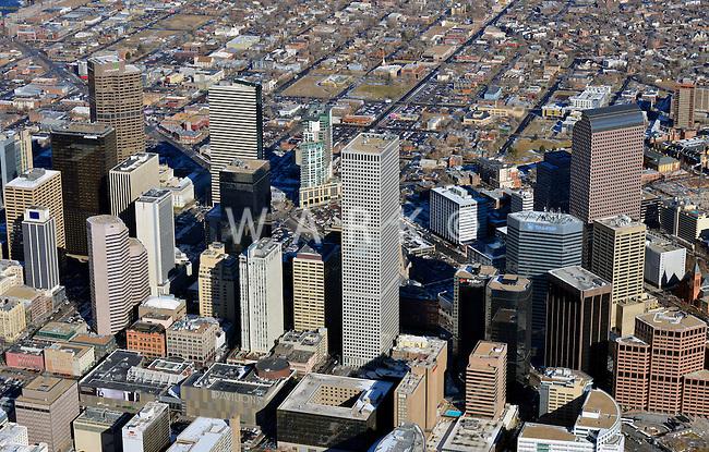 Downtown Denver skyline,   Feb 2013