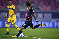 Roberto Soriano of Bologna FC scores a goal <br /> during the Serie A football match between Bologna FC and Parma Calcio 1913 at stadio Renato Dall Ara in Bologna (Italy), September 28th, 2020. Photo Image Sport / Insidefoto