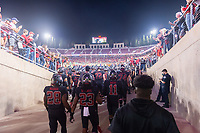 Stanford, Ca. - October 6, 2018: The Stanford Cardinal vs the Utah Utes in Stanford Stadium. Final score Stanford Cardinal 21, Utah Utes 40.