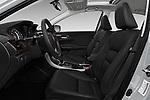 Front seat view of 2017 Honda Accord EX-L 4 Door Sedan Front Seat  car photos