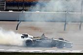 James Hinchcliffe, Schmidt Peterson Motorsports Honda makes the victory donuts