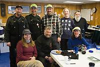 Group photo of volunteers at Koyuk