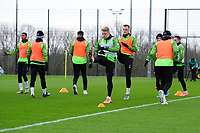 Jake Bidwell of Swansea City in action during the Swansea City Training at The Fairwood Training Ground in Swansea, Wales, UK.  Wednesday 08 January 2020