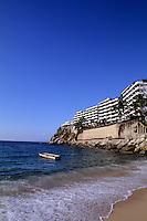The good life at La Jolla de Mismakoya Beach sunset beach near Puerto Vallarta Mexico.