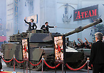 Bradley Cooper &  Sharlto Copley arrive by tank at the Twentieth Century Fox L.A. Premiere of The A-Team held at The Grauman's Chinese Theatre in Hollywood, California on June 03,2010                                                                               © 2010 Debbie VanStory / Hollywood Press Agency