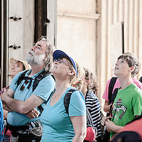 Pantheon's entrance, Rome