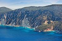 Platia Ammos in Ithaki island, Greece