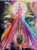 Marie, REALISTIC ANIMALS, REALISTISCHE TIERE, ANIMALES REALISTICOS, paintings+++++WCsWolfTwo,USJO168,#A# ,Joan Marie, wolf