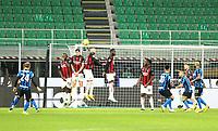 Milano  26-01-2021<br /> Stadio Giuseppe Meazza<br /> Coppa Italia Tim 2020/21<br /> Inter - Milan nella foto:     Eriksen goal                                                     <br /> Antonio Saia Kines Milano
