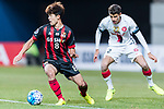 FC Seoul Forward Lee Sangho in action during the AFC Champions League 2017 Group F match between FC Seoul (KOR) vs Western Sydney Wanderers (AUS) at the Seoul World Cup Stadium on 15 March 2017 in Seoul, South Korea. Photo by Chung Yan Man / Power Sport Images