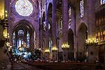 Le Seu Cathedral in Palma De Mallorca, Spain