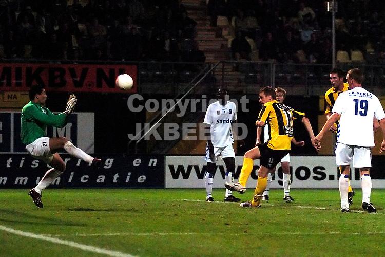 veendam - agovv jupiler league seizoen 2007-2008 21-09-2007  veldmate mist grote kans
