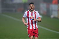 Ben Coker of Stevenage during Stevenage vs Hull City, Emirates FA Cup Football at the Lamex Stadium on 29th November 2020