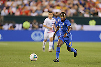 PHILADELPHIA, PENNSYLVANIA - JUNE 30: Elson Hooi #18 during the 2019 CONCACAF Gold Cup quarterfinal match between the United States and Curacao at Lincoln Financial Field on June 30, 2019 in Philadelphia, Pennsylvania.