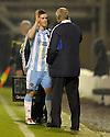 14/12/2010   Copyright  Pic : James Stewart.sct_jsp026_motherwell_v_hearts  .::  DAVID TEMPLETON IS CONGRATULATED BY HEARTS MANAGER JIM JEFFERIES AS HE IS SUBSTITUTED ::.James Stewart Photography 19 Carronlea Drive, Falkirk. FK2 8DN      Vat Reg No. 607 6932 25.Telephone      : +44 (0)1324 570291 .Mobile              : +44 (0)7721 416997.E-mail  :  jim@jspa.co.uk.If you require further information then contact Jim Stewart on any of the numbers above.........