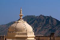 Indien, Festung Amber bei Jaipur, im Palast, UNESCO-Weltkulturerbe